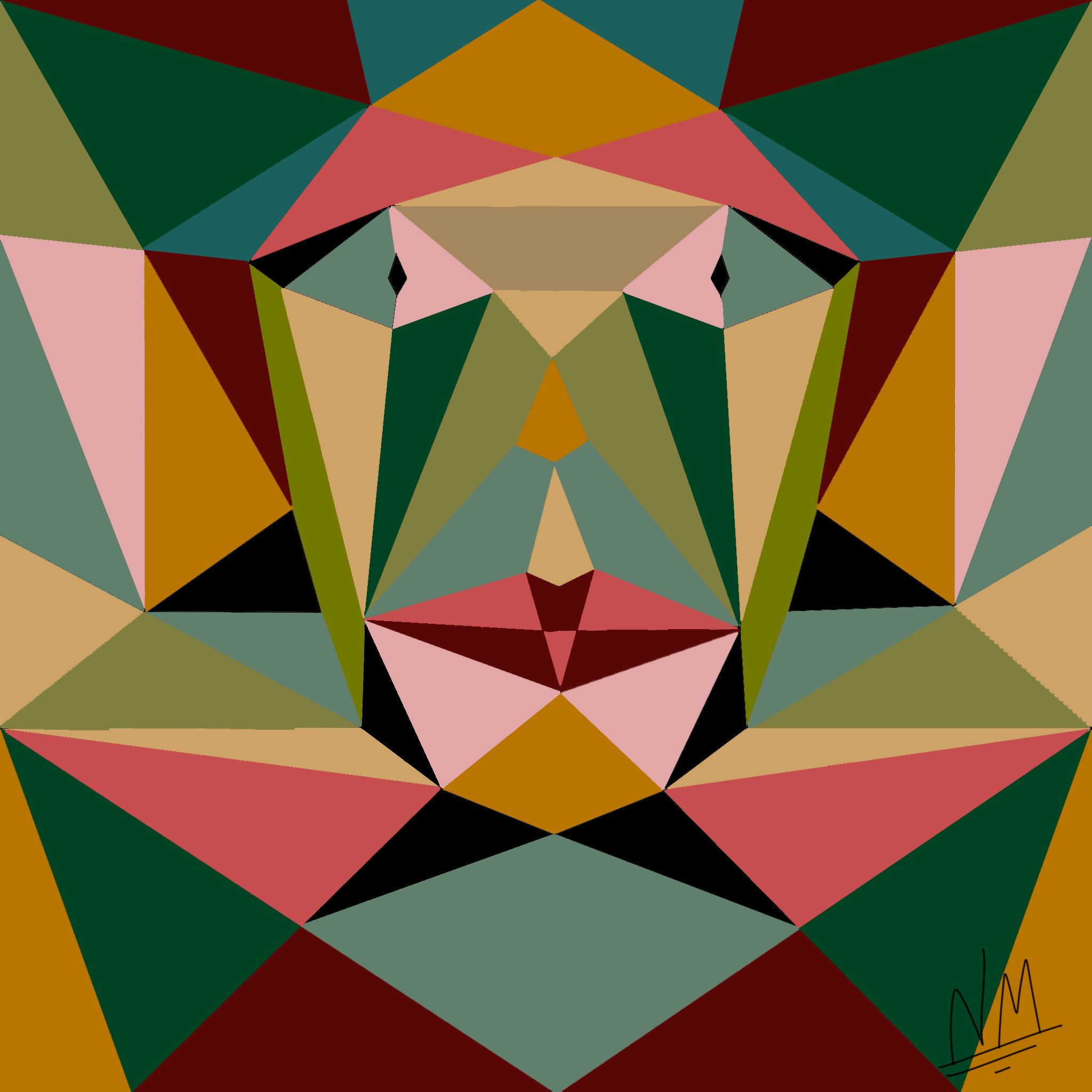 Symmetrical Tris