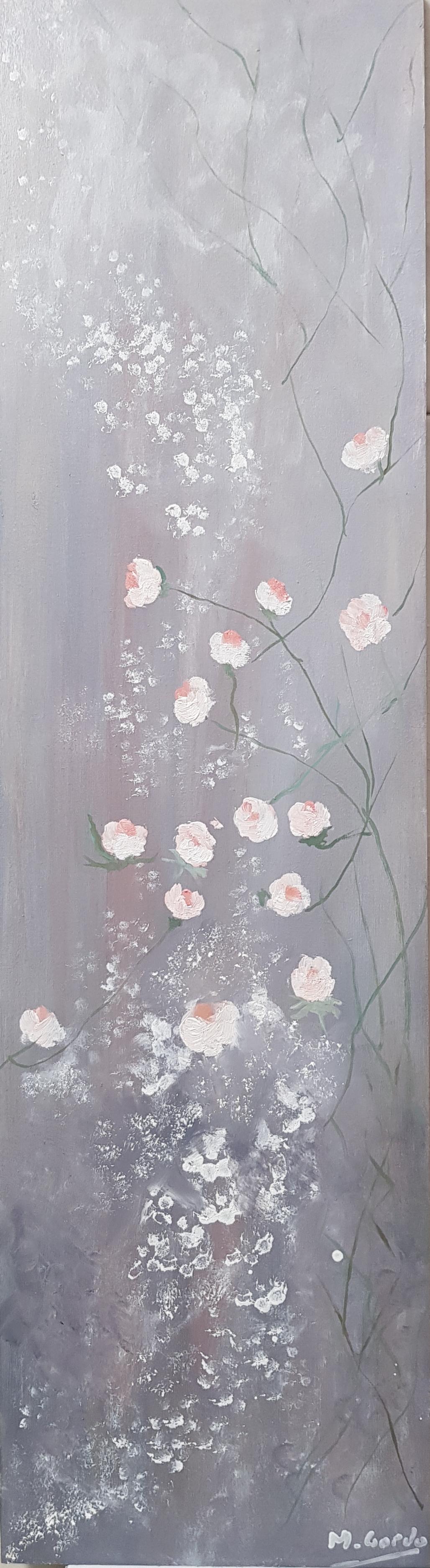 Flores. 4 rosas
