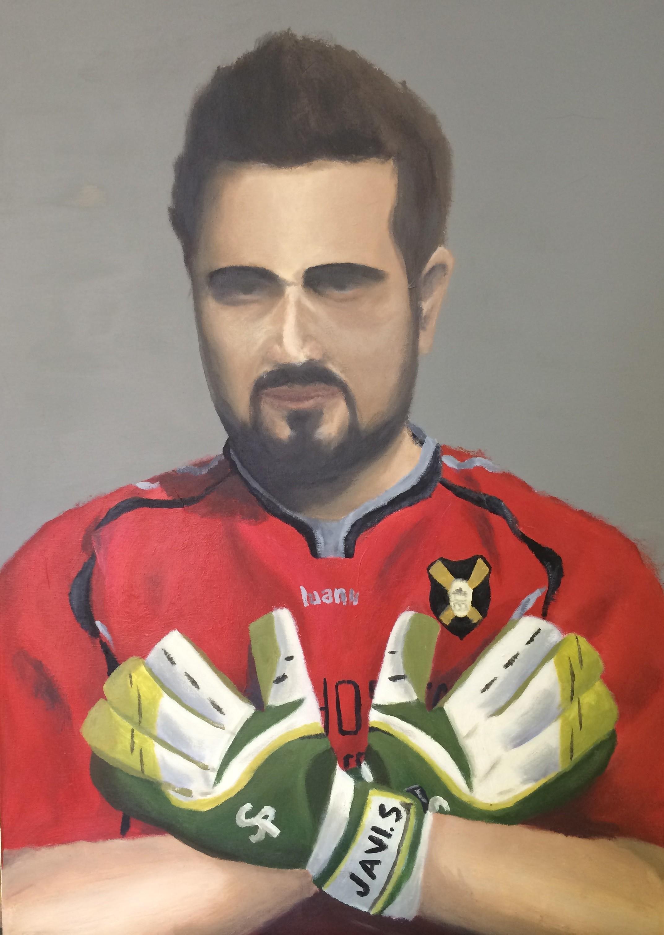 Autorretrato Javier Sánchez