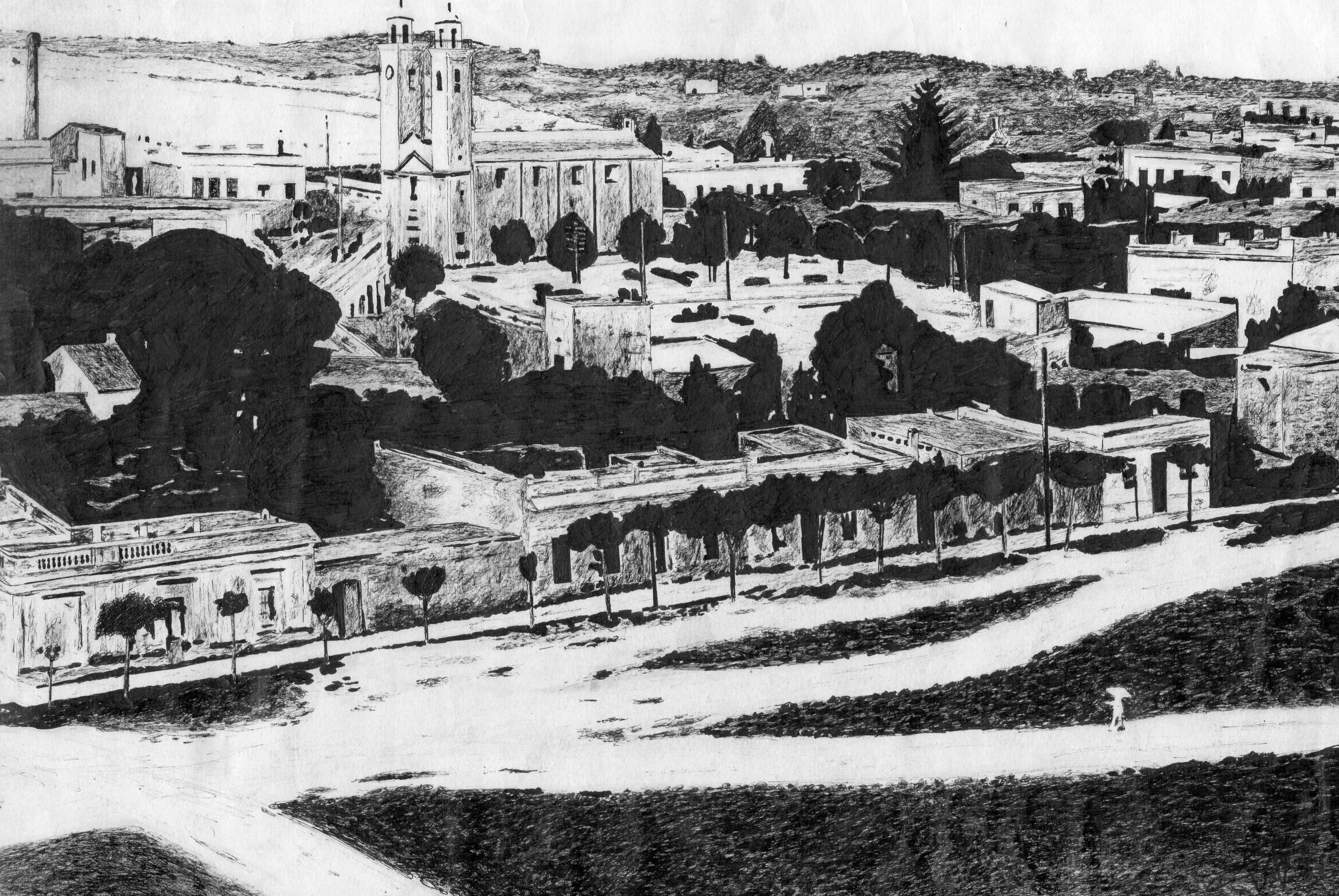 4- Colonia del Sacramento (UY) drawn old photo