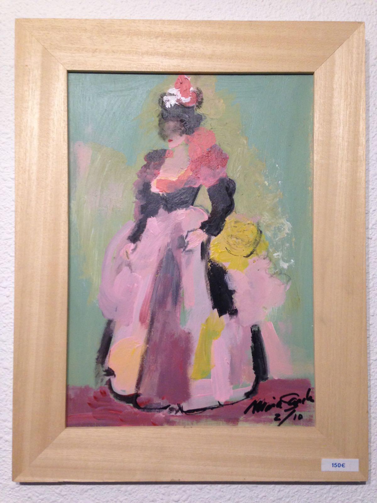 2 portrait of Maria Sancho