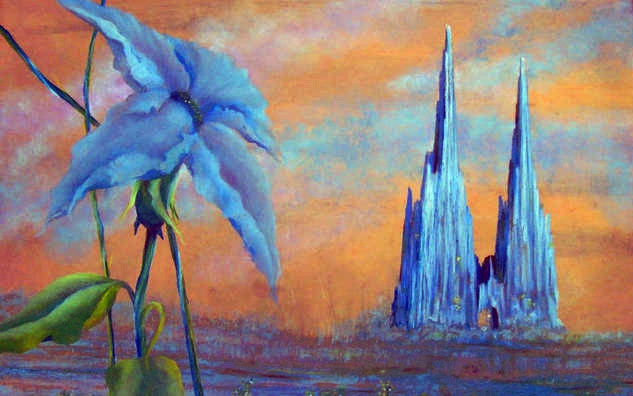 Cathedral Earth Landscape Painting