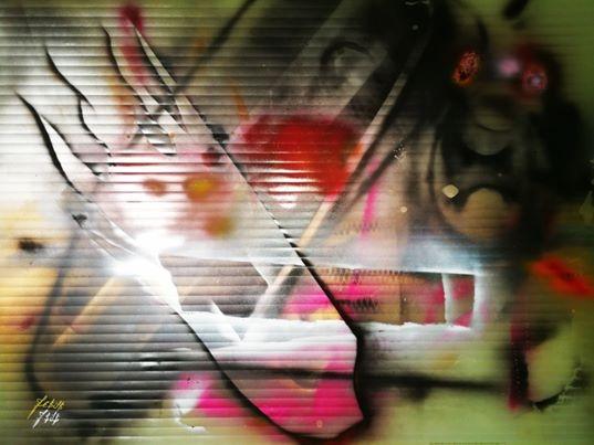 130 x 90 Large Apocalyptic Frame