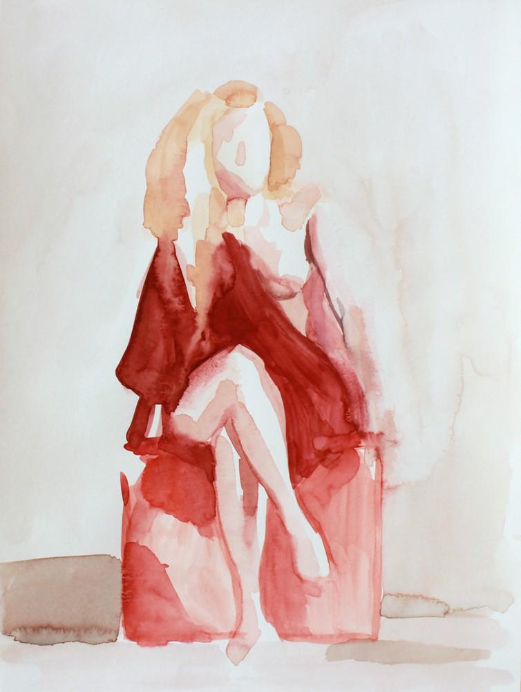 The makeshift toga