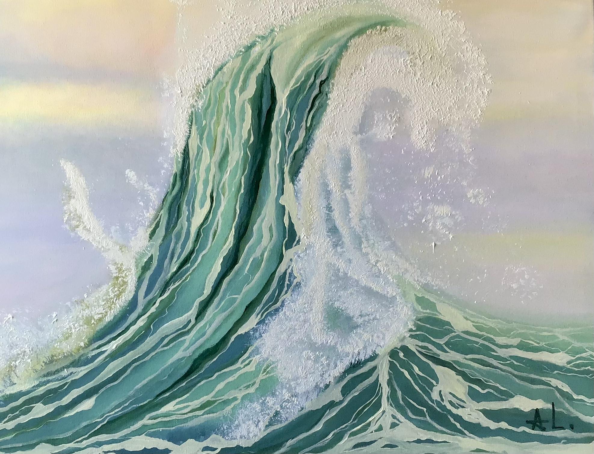 """"""" Sinfonía visual de las olas Ill """" 80/60 cm"""