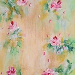 """"""" Romantic roses 02"""", 60x40 cm, 110 euros"""