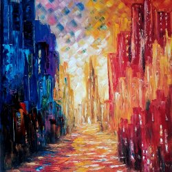Colorful city.
