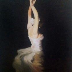 Bailarima in water