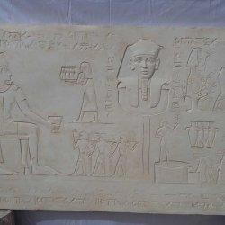 Relieve: La viña y el vino en el antiguo Egipto.