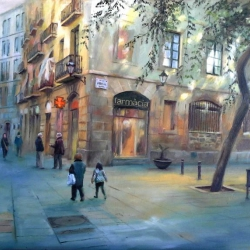 Calle Carders. Barcelona