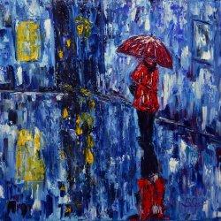 Rain in the night.