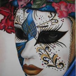 Portrait of mascara.