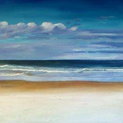 Sea, acrylic 80x100