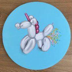 """""""Pedo Confeti de Unicornio""""  ( Se puede hacer por encargo y con colores personalizados)"""