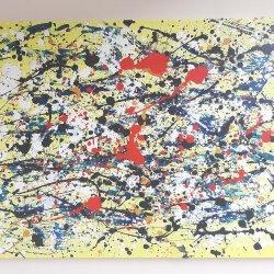 """""""Un sueño en amarillo """", 80x60cm,  200 euros"""