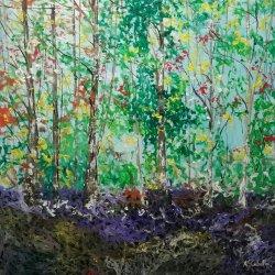 Colorido en el  bosque