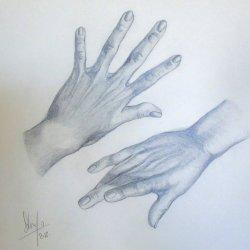 "Dela series series ""hands"" 3"