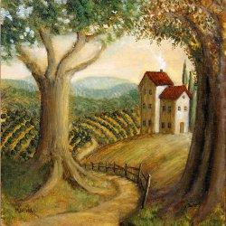 Casa y paisaje