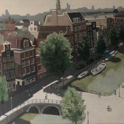 Amsterdam from Oude Kerk