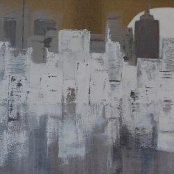 Ciudad Luna 100 x 50 cm