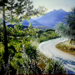 Landscapes of the valley of Dílar