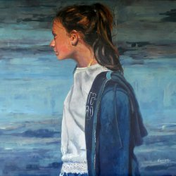 Marina en azules