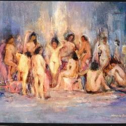 Reunión de mujeres (60x50).JPG