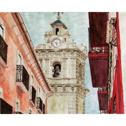 VIEWS OF THE BELL TOWER OF SAINT MARY MAJOR