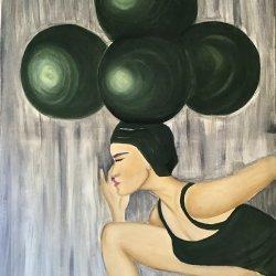 """Holding the balance"" 80 x60 cm"