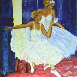 Dancers in the Bayader.