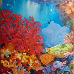 Between corals