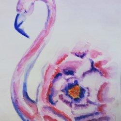 Flamenco flor