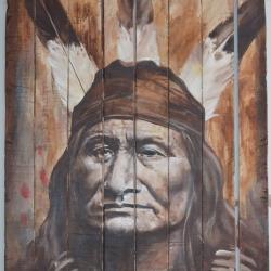Son of the Star.aka Rushing Bear.Arikara tribe