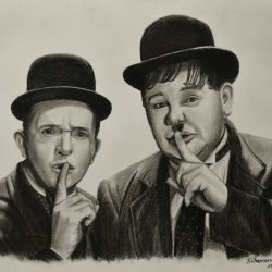 LAUREL AND HARDY (The Fat and the Skinny)