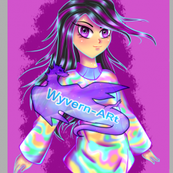 holographic girl