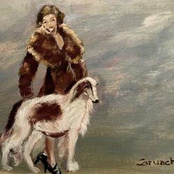 La dama y el perro