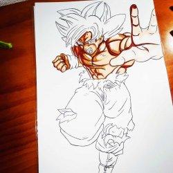 Goku instinct