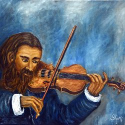 Evaristo el violín.