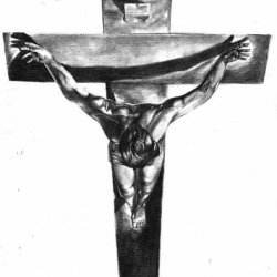 Christ of San Juan de la Cruz (Tribute to Dalí)