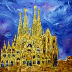 Gaudi and the Holy Family.