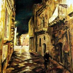 Calle de Lecce. Italia