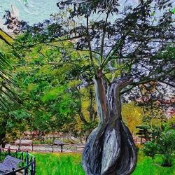 Bottle Tree by Marian Gaztel