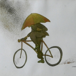 Bad day for cycling