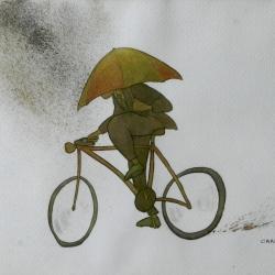 Mal día para ir en bici