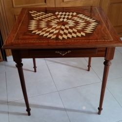 Marquetry table - model 1