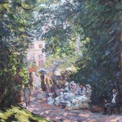 Monet's Monceau Park Study