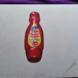 Bote de Ketchup