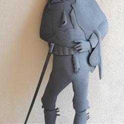 Escultura Carrero