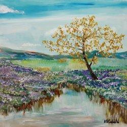 La laguna florecida