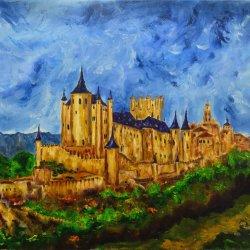 Alcazar of Segovia.